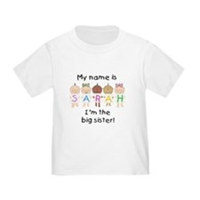 **SAMPLE** Sarah Big Sister T