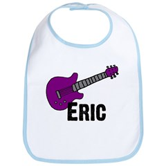 Guitar - Eric - Purple Bib