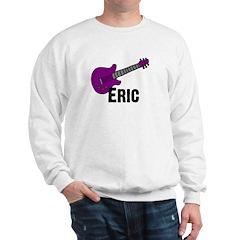 Guitar - Eric - Purple Sweatshirt