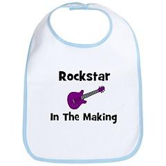 Rockstar In The Making Bib