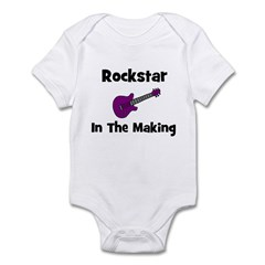 Rockstar In The Making Infant Bodysuit