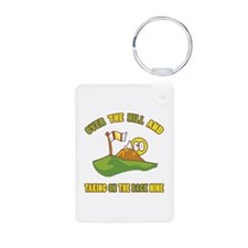 Golfing Humor For 60th Birthday Keychains