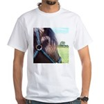 MAYBE White T-Shirt