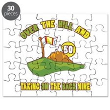 Golfing Humor For 50th Birthday Puzzle