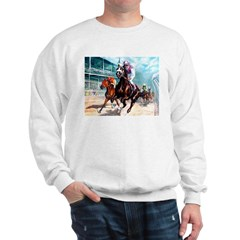 DOWN THE FIRST TURN Sweatshirt