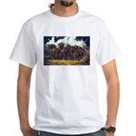 THREAT OF REIN White T-Shirt