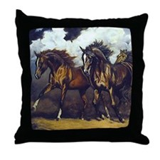 THREAT OF REIN Throw Pillow