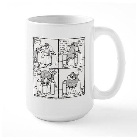 Poppy The Lapdog - Large Mug