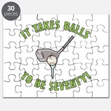 70th Birthday Golfing Gag Puzzle