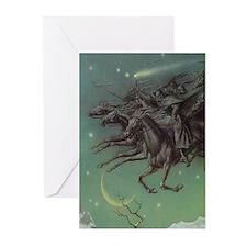 Yule Heathen Asatru Greeting Cards (6)