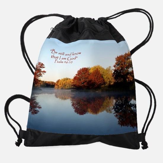 Be still... Drawstring Bag
