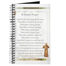 Saint Pope Francis Simple Prayer Journal
