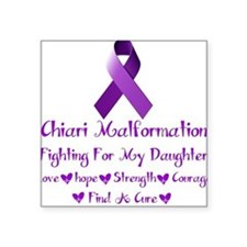 fighting For My daughter Sticker