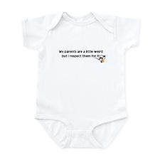 Weird Parents Infant Bodysuit