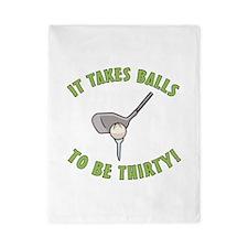 30th Birthday Golfing Gag Twin Duvet