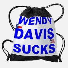 Unique Wendy davis for governor Drawstring Bag