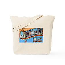 Asheville North Carolina Greetings Tote Bag