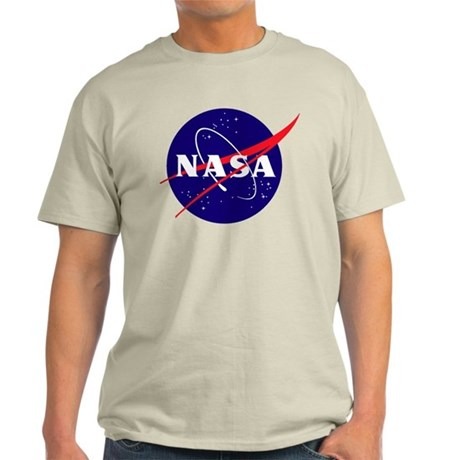NASA Meatball Logo Light T-Shirt