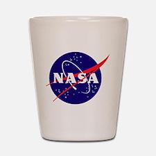 NASA Meatball Logo Shot Glass