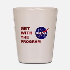 Program Logo Shot Glass