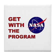 Program Logo Tile Coaster