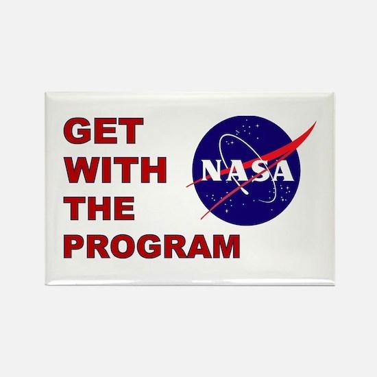 Program Logo Rectangle Magnet