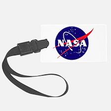 NASA Meatball Logo Luggage Tag