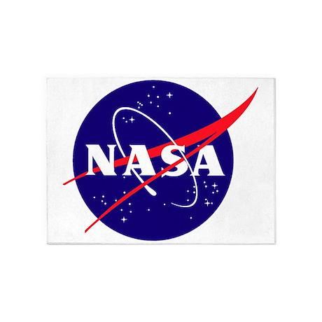 NASA Meatball Logo 5'x7'Area Rug