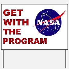 Program Logo Yard Sign