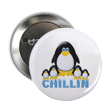 Chillin Penguins Button