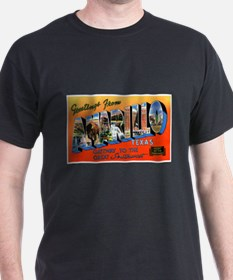 Amarillo Texas Greetings (Front) T-Shirt