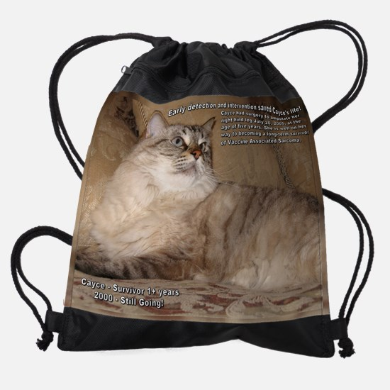 July_Cayce_11.5x9.png Drawstring Bag
