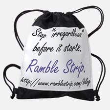 blog_logo_irregardless.jpg Drawstring Bag