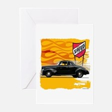 Speed '40 Ford Greeting Cards (Pk of 10)