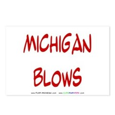 Michigan Blows Postcards (Package of 8)