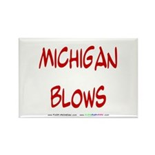 Michigan Blows Rectangle Magnet (10 pack)