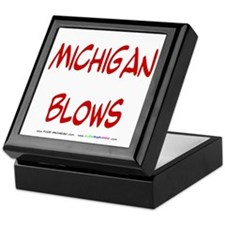 Michigan Blows Keepsake Box