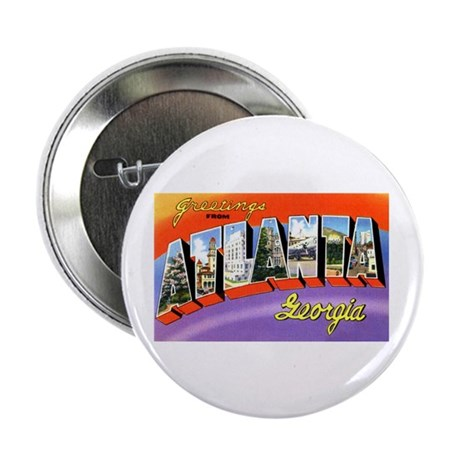 "Atlanta Georgia Greetings 2.25"" Button (10 pack)"