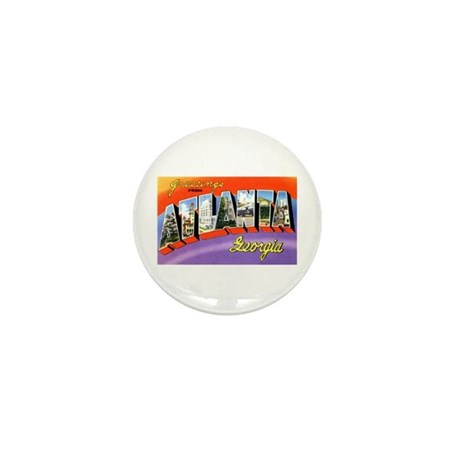 Atlanta Georgia Greetings Mini Button (10 pack)