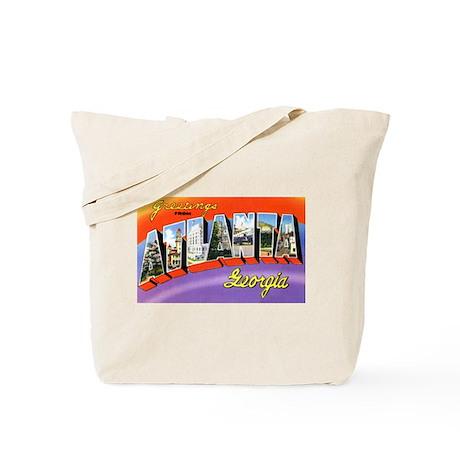 Atlanta Georgia Greetings Tote Bag