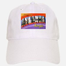 Atlanta Georgia Greetings Baseball Baseball Cap
