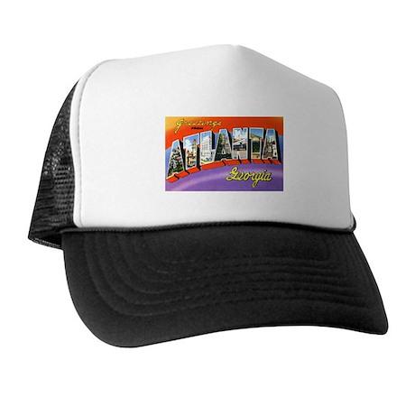 Atlanta Georgia Greetings Trucker Hat