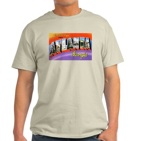 Atlanta Georgia Greetings Ash Grey T-Shirt