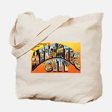 Atlantic City New Jersey Greetings Tote Bag
