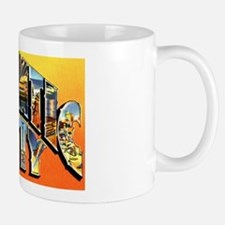 Atlantic City New Jersey Greetings Mug