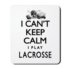 Can't Keep Calm LaX Mousepad
