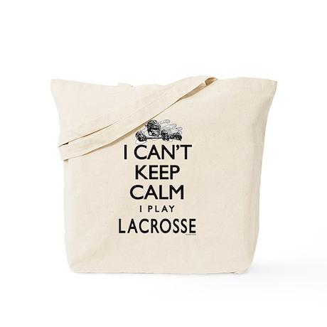 Can't Keep Calm LaX Tote Bag