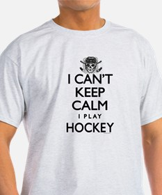 Can't Keep Calm Hockey T-Shirt