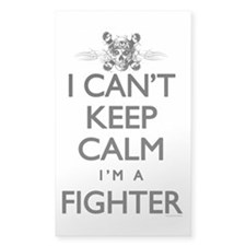 Can't Keep Calm Fighter Decal