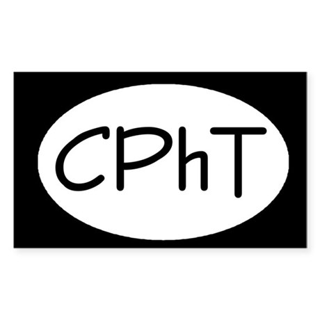 CPhT Rectangle Sticker